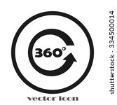 three hundred and sixty degrees | Shutterstock .eps vector #334500014