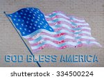 God Bless America Flag