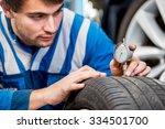 mechanic  checking a... | Shutterstock . vector #334501700