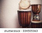 Various Djembes And Tambourine...