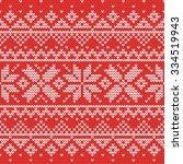 Christmas Knitting Seamless...