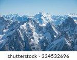 Mont Blanc Mountain  White...