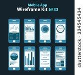 mobile wireframe app ui kit 33. ...