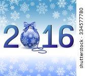 2016 text design | Shutterstock .eps vector #334577780
