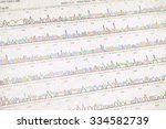 Small photo of DNA sequencing result sheet