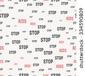 seamless pattern with the text... | Shutterstock .eps vector #334590809