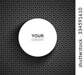 circle text box design for your ... | Shutterstock .eps vector #334591610