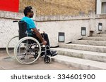 Young Man In A Wheelchair...