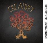 creativity graphic | Shutterstock .eps vector #334608938