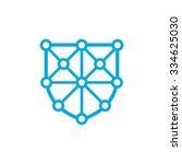 shield logo vector template | Shutterstock .eps vector #334625030