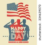 Veterans Day Poster. Us...