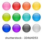 web button set | Shutterstock . vector #33464053