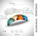 business infographic template... | Shutterstock .eps vector #334652663
