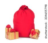 Red Big Santa Christmas Sack...