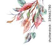 Fall Leaves Twig