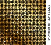 vector background with gold... | Shutterstock .eps vector #334663238