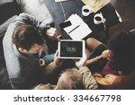 people team working together... | Shutterstock . vector #334667798