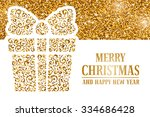 luxury christmas and new year... | Shutterstock .eps vector #334686428