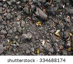 dug over chestnut soil in...   Shutterstock . vector #334688174