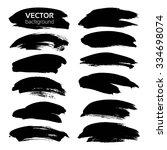 frames from thick black... | Shutterstock .eps vector #334698074