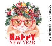 Christmas Fashion Cat