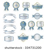 blank premium label and budges... | Shutterstock .eps vector #334731200