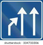 netherlands road sign l5   end... | Shutterstock . vector #334733306