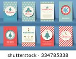 Set Of  Christmas Brochures In...