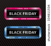 black friday collection sale... | Shutterstock .eps vector #334811534