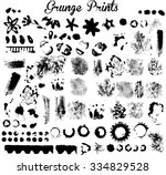 elements for grunge design and... | Shutterstock .eps vector #334829528