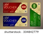 Voucher Set  Luxury Gift...