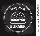 fast food icon design  vector... | Shutterstock .eps vector #334846016