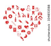 set of medical icons | Shutterstock .eps vector #334853588