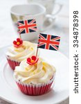 Red Velvet Cupcake With Britis...