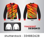 tracksuit design vector... | Shutterstock .eps vector #334882628