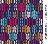 vector bright seamless pattern... | Shutterstock .eps vector #334885946