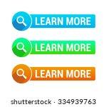 learn more banner | Shutterstock .eps vector #334939763