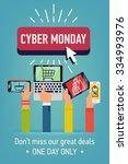 creative flat design web banner ... | Shutterstock .eps vector #334993976