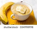 Banana  Mug Cake Prepared In...
