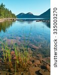 Jordan Pond In Acadia National...