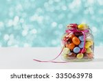 Colorful Candy Jar Decorated...