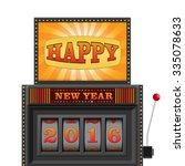 slot machine  gamble machine  ... | Shutterstock .eps vector #335078633