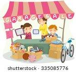 illustration of kids manning a...   Shutterstock .eps vector #335085776