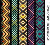 trendy  contemporary ethnic...   Shutterstock .eps vector #335095604