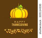vector illustration of happy... | Shutterstock .eps vector #335114330