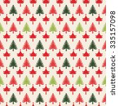 christmas patterns  seamlessly... | Shutterstock .eps vector #335157098