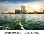 view on modern cairo from the... | Shutterstock . vector #335168903