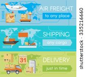 delivery web banners | Shutterstock . vector #335216660