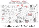 doodle line design of web... | Shutterstock .eps vector #335219378