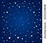 vector background. starry night ...   Shutterstock .eps vector #335224808